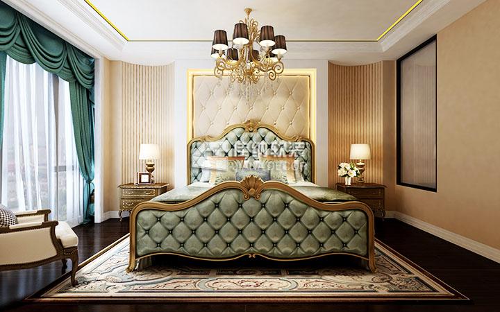欧式古典家具给人的整体感觉是庄重典雅