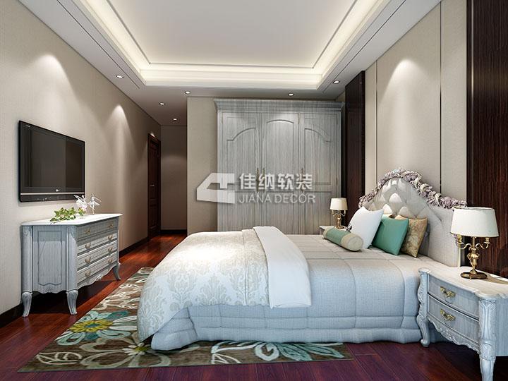 欧式卧室软装