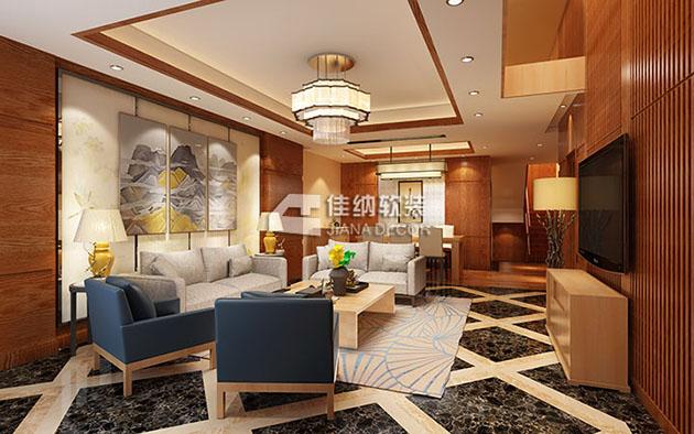 尚东鼎别墅 现代简约低奢风格
