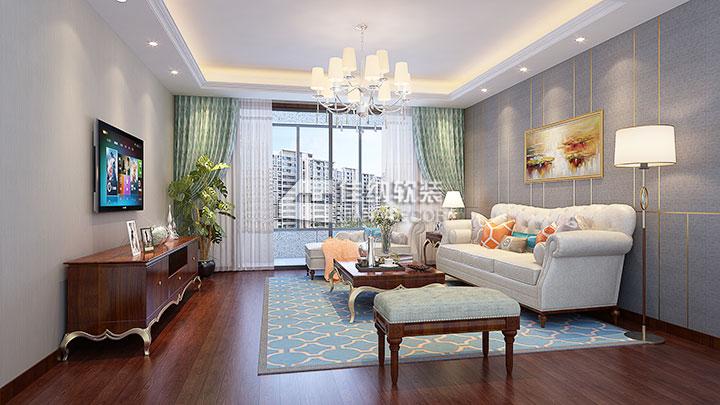 仁恒东郊花园 新古典后现代混搭风格