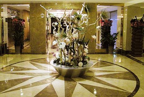 浦东碟泉酒店 后现代奢华风格